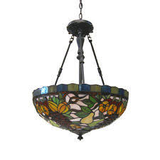 Glass Fruit Chandelier by Quoizel Stained Glass Chandeliers Ebay