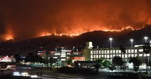 Wildfire Arizona Golf by 19 Wildfires Burning In California Including La U0027s Largest Ever