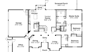 27 decorative spanish style floor plans house plans 25189