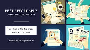 Resume Companies 7 Affordable Resume Writing Services