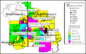 of akron map akron consolidated plan for 1995 executive summary