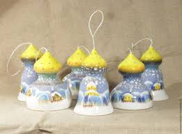 buy ceramic bell with dome on livemaster online shop