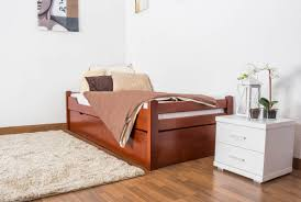 Single Bed Frame With Trundle Single Bed Easy Sleep K1 1h Incl Trundle Bed Frame And Cover