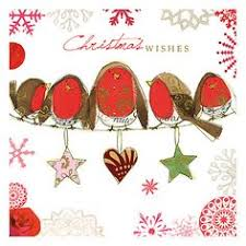 buy uk greetings foiled berry wreath charity christmas cards pack