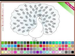 peacock coloring pages for kids peacock coloring pages youtube