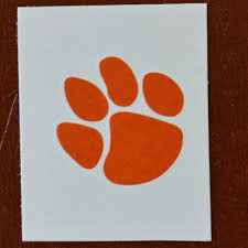 tiger paw temporary solid orange set of 5 magnolia and
