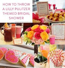 themed bridal shower how to throw a lilly pulitzer themed bridal shower it starts