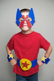 Kids Superhero Halloween Costumes Diy Simple Sew Superhero Costume Craft Superhero Halloween