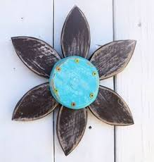 flowers out of rustic wood rustic barn wood flower wreath