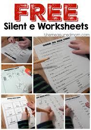 free silent e worksheets worksheets