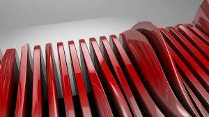 futuristic style metallic wave shapes flowing motion glossy hi tech futuristic