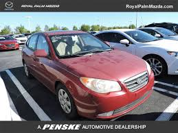 hyundai elantra 2007 used hyundai elantra 4dr sedan automatic se w xm at royal