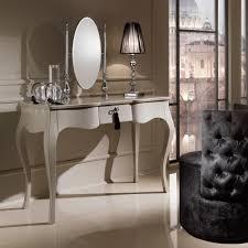 Designer Modern Dressing Table With Oval Mirror Juliettes - Designer dressing tables