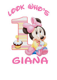 baby minnie mouse 1st birthday baby minnie 1st birthday iron on transfer minnie mouse candy bar