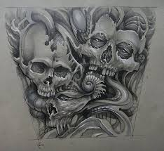 27 best skull tattoo drawing designs images on pinterest skull