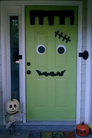 Decorating Home For Halloween Halloween Front Door Decorations