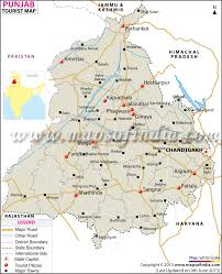 United States Road Trip Map by Travel To Punjab Tourism Destinations Hotels Transport