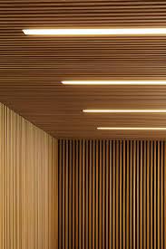 wood slat wood slat ceiling interior design ideas
