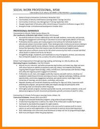 social worker resume resume ideas