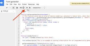 Google Spreadsheet App How To Make Programmatic Google Forms David Ernst