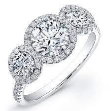 brilliant rings images 1 52 carat round brilliant cut 3 stone diamond engagement ring 18k wh jpg