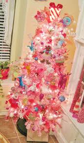 pink christmas tree diy pink christmas trees