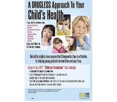 child u0027s health educational poster justus chiropractic marketing