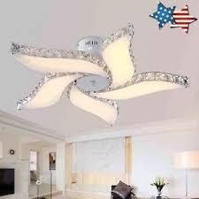 Flower Pendant Light Modern Flower Led Ceiling Light Living Room Bedroom Lobby