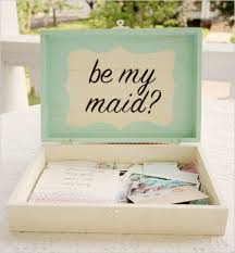 bridesmaid invitations diy wedding ideas be my bridesmaid boxes