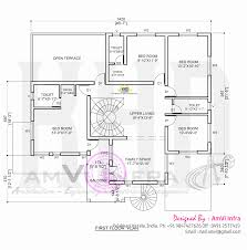 house concept rendering with floor plan home kerala plans first