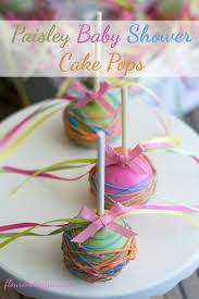 baby girl shower cake paisley baby shower cake pops flour on my