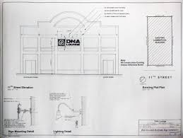 Wall Blueprints by Dna Lounge Historical Blueprints