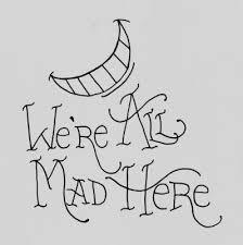drawings megan sewell we u0027re all mad here alice in wonderland
