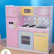 kidkraft island kitchen kidkraft pastel kitchen reviews wayfair
