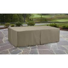 garden oasis oversized rectangle patio furniture set cover