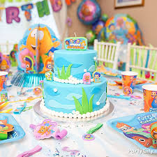 bubble guppies cake party