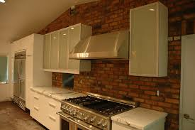 brick kitchen backsplash why should you have one u2013 morton stones