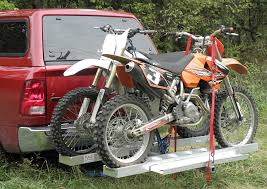 Tire Rack Motorcycle Anybody Have A Spare Tire Carrier And A Hitch Mount Dirt Bike