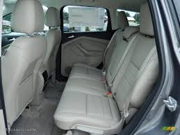 Ford Escape Ecoboost - medium light stone interior 2014 ford escape titanium 1 6l