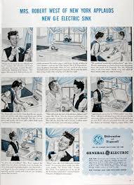General Electric Dishwasher 1945 General Electric Dishwasher U0026 Disposall Original Vintage