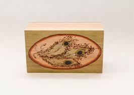 Feather Home Decor Art Decorative Box Accent Art Memory Box Jewelry Box Photo Box