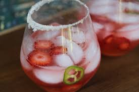 jalapeno margaritas strawberry jalapeno margaritas cook eat run