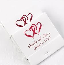 wedding matchboxes matchbooks