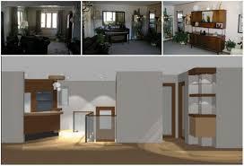 Split Level Kitchen Island by Denver Split Level Howard Interior Design