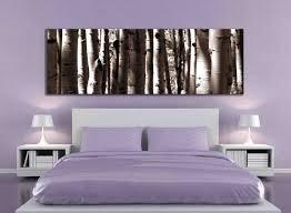 Living Room Decor Etsy Sepia Panoramic Aspen Tree 20x60 Inch Or 12x36 Canvas Print