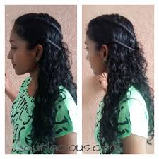 can hair be slightly curly or wavy quick hairstyle ideas for indian naturally curly and wavy hair