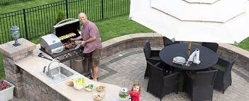 How To Create An Outdoor by How To Create An Outdoor Kitchen At Home Sears Home Services