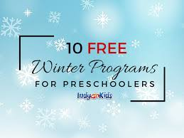 10 free winter programs for preschoolers in indianapolis indy