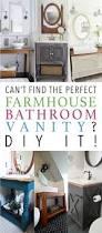 can u0027t find the perfect farmhouse bathroom vanity diy it the
