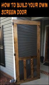 how to make your own barn door hardware best 25 screen doors ideas on pinterest wood screen door front